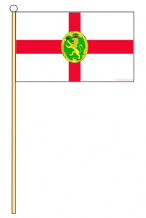 ALDERNEY - HAND WAVING FLAG (MEDIUM)